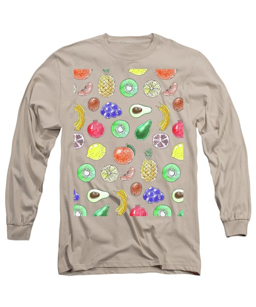 Fruit Pattern  Long Sleeve T-Shirt