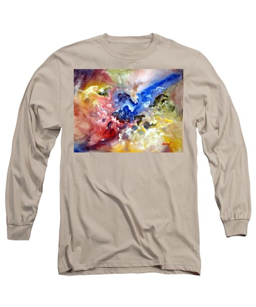 Long Sleeve T-Shirt featuring the painting Fruitfulness by Raymond Doward
