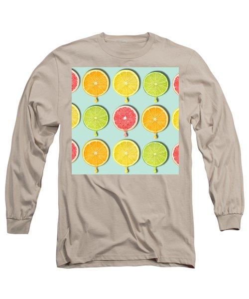 Fruity Long Sleeve T-Shirt by Mark Ashkenazi
