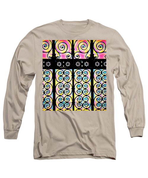 Fuchsia Gate  Long Sleeve T-Shirt