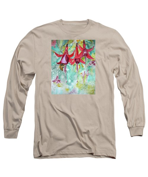Fuchsia Long Sleeve T-Shirt