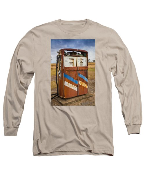 Fuel Pump Long Sleeve T-Shirt by Keith Hawley