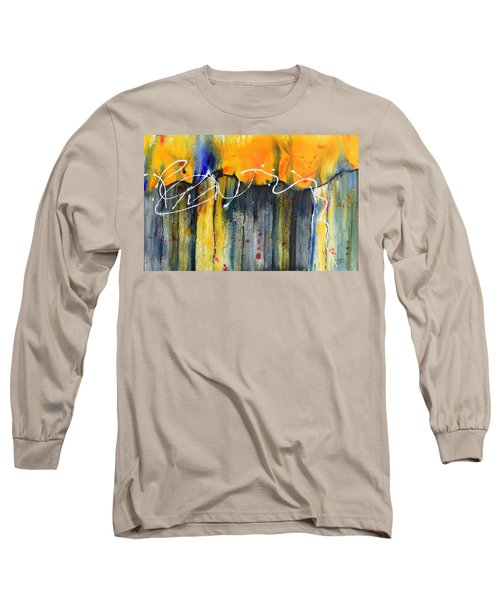 Fueled By The Wind Long Sleeve T-Shirt by Nancy Jolley