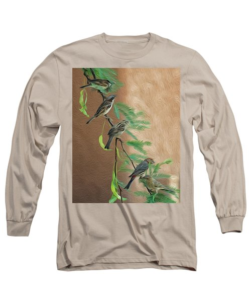 Long Sleeve T-Shirt featuring the photograph Full House Op17 by Mark Myhaver