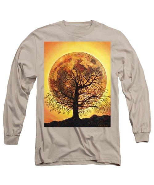 Full Moonrise. Long Sleeve T-Shirt