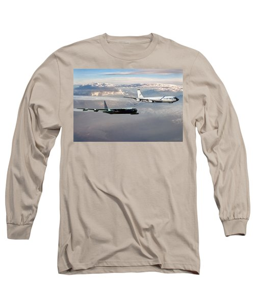 Long Sleeve T-Shirt featuring the digital art Full Service by Peter Chilelli