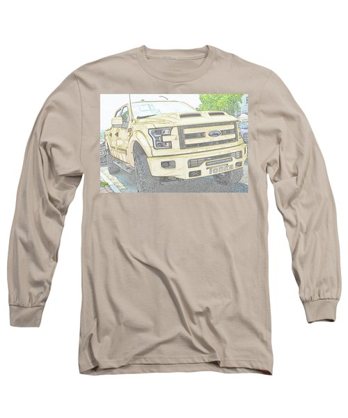 Long Sleeve T-Shirt featuring the photograph Full Sized Toy Truck by John Schneider