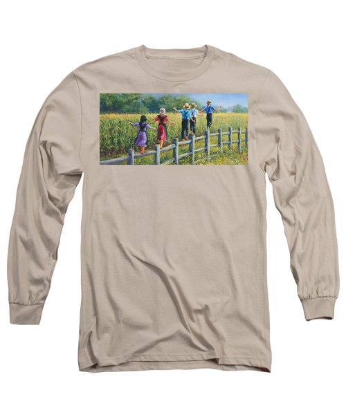 Girls Can To Long Sleeve T-Shirt