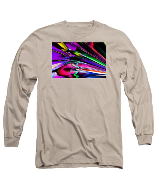 Fun With Colour Long Sleeve T-Shirt by Elaine Hunter