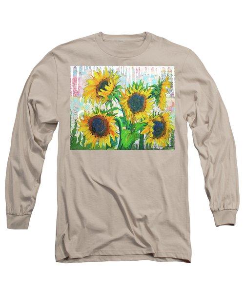 Funflowers Long Sleeve T-Shirt
