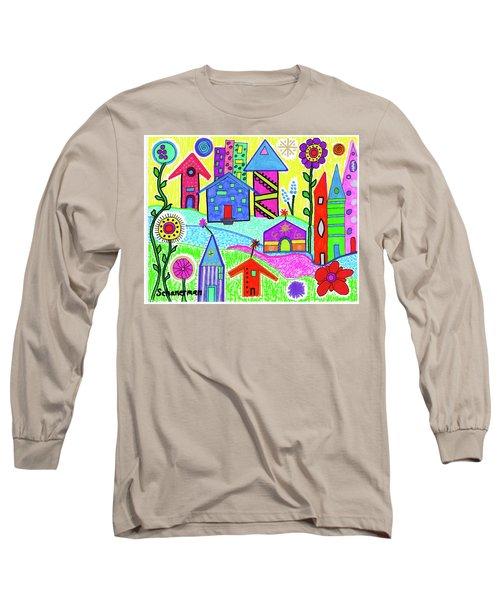 Funky Town 3 Long Sleeve T-Shirt