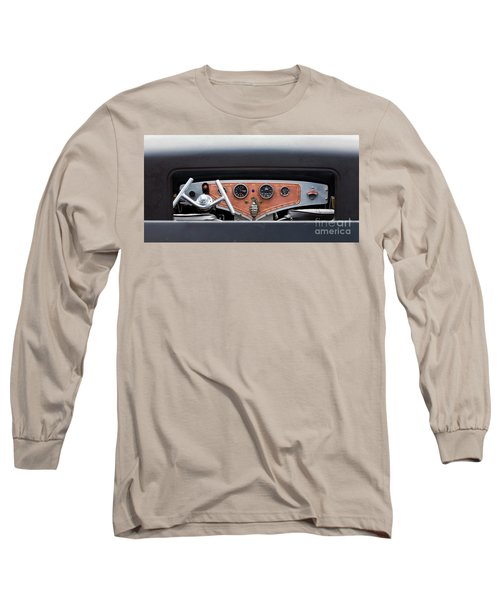 Long Sleeve T-Shirt featuring the photograph Funny Car Dash by Chris Dutton