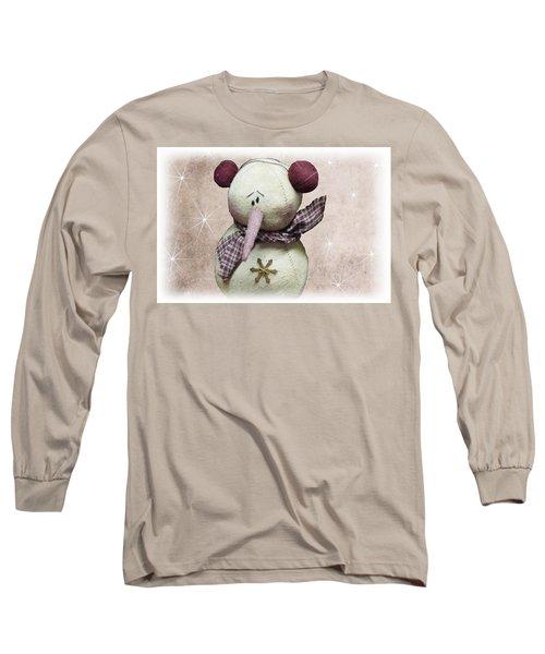 Fuzzy The Snowman Long Sleeve T-Shirt