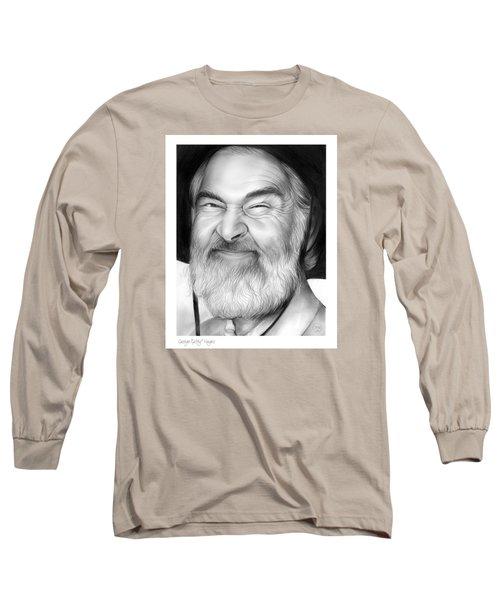 Gabby Hayes Long Sleeve T-Shirt by Greg Joens