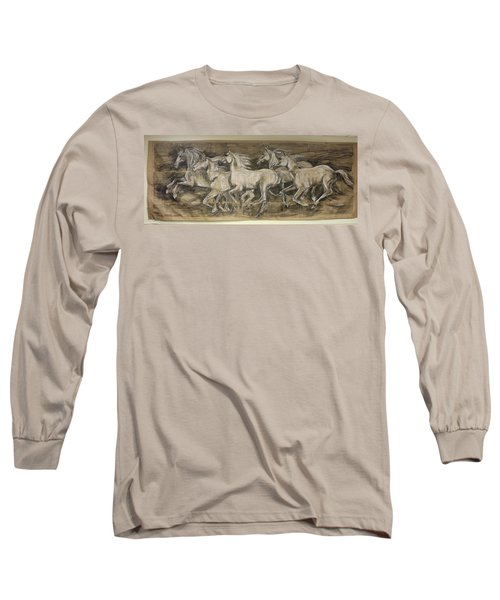 Galloping Stallions Long Sleeve T-Shirt