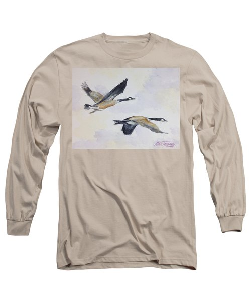 Gander Long Sleeve T-Shirt by Stan Tenney