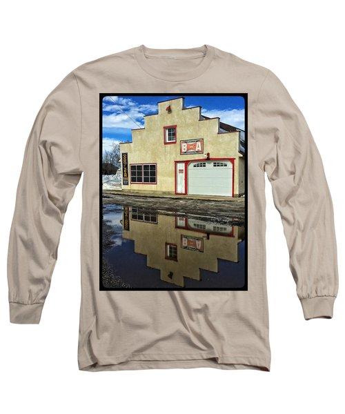 Garage Reflection Long Sleeve T-Shirt