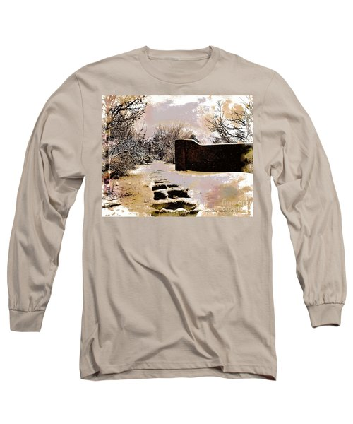 Garden Art Print  Long Sleeve T-Shirt