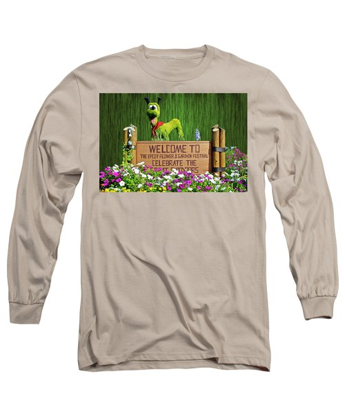 Garden Festival Mp Long Sleeve T-Shirt by Thomas Woolworth
