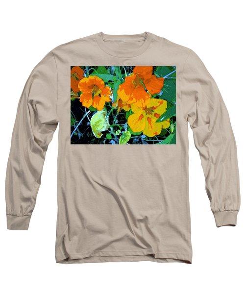 Garden Flavor Long Sleeve T-Shirt by Winsome Gunning