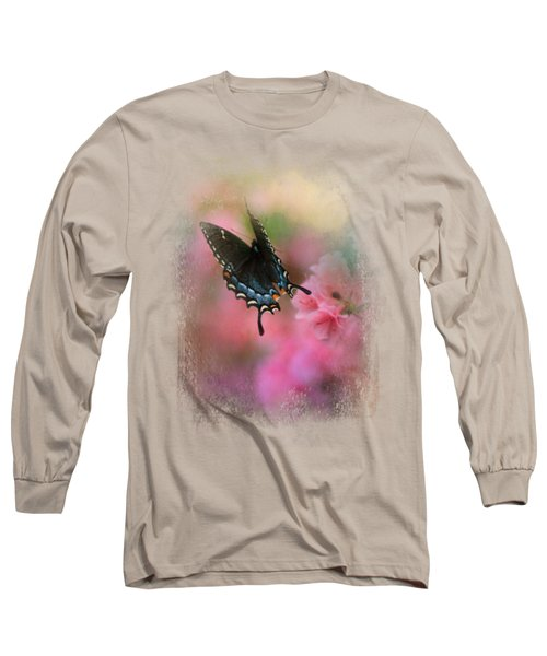 Garden Friend 1 Long Sleeve T-Shirt by Jai Johnson