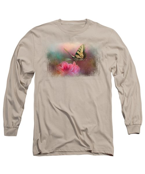 Garden Friend 2 Long Sleeve T-Shirt by Jai Johnson