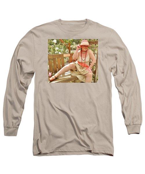 Garden Gypsy Long Sleeve T-Shirt by VLee Watson