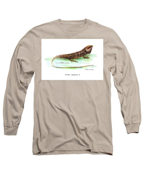 Garden Lizard Long Sleeve T-Shirt by Nguyen van Xuan
