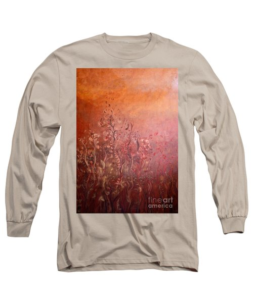 Garden Of The Sacred Fire Artbox Project 1 Basel Long Sleeve T-Shirt