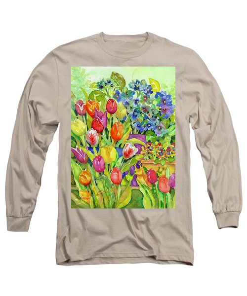 Garden Visitors Long Sleeve T-Shirt