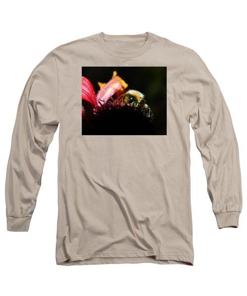 Gathering Long Sleeve T-Shirt by Janet Rockburn