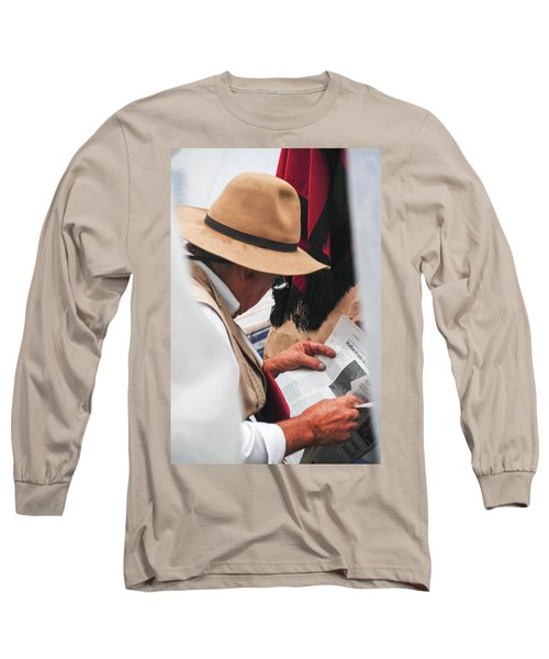 Gaucho Reading Long Sleeve T-Shirt