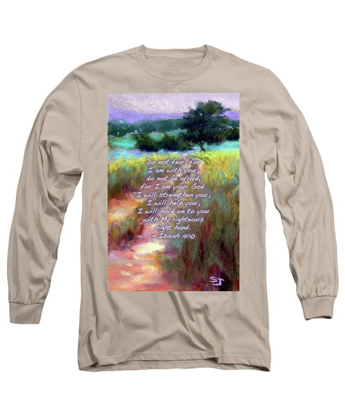 Gentle Journey With Bible Verse Long Sleeve T-Shirt