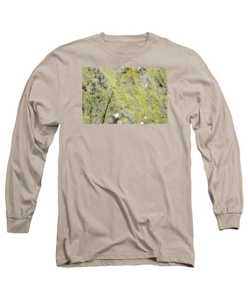 Long Sleeve T-Shirt featuring the photograph Gentle Weeds by Deborah  Crew-Johnson