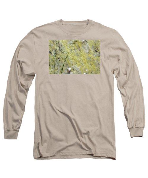 Gentle Weeds Long Sleeve T-Shirt by Deborah  Crew-Johnson