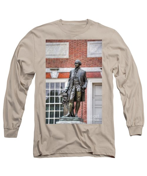 George Washington Statue Long Sleeve T-Shirt