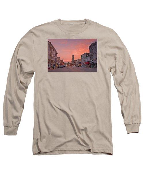 Georgetown Kentucky Long Sleeve T-Shirt by Ulrich Burkhalter