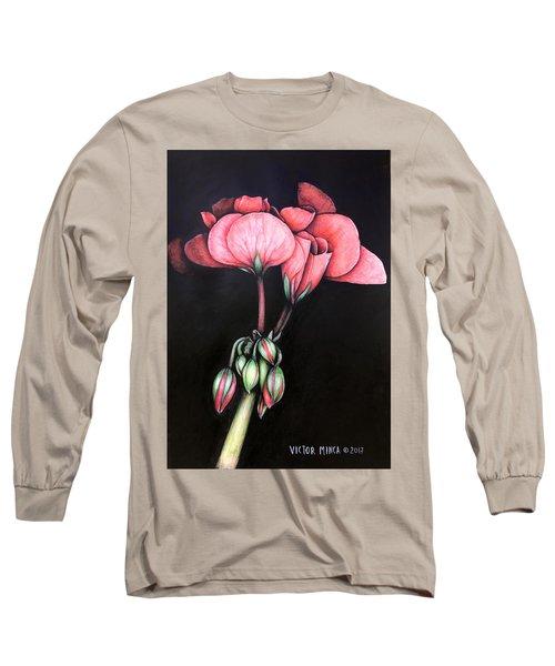 Geranium Long Sleeve T-Shirt