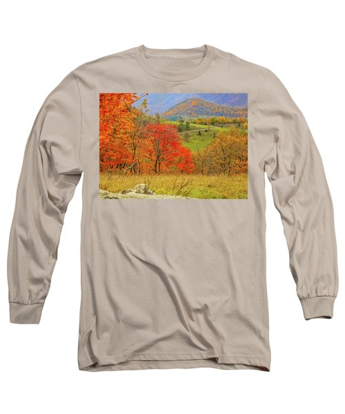 Germany Valley Dressed In Autumn Long Sleeve T-Shirt
