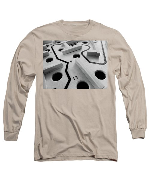 Long Sleeve T-Shirt featuring the photograph Get Me To The Finish by Robert Knight