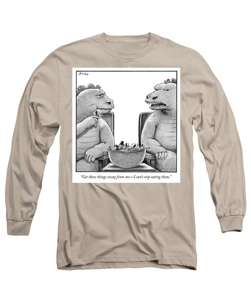 Get Those Things Away From Me Long Sleeve T-Shirt