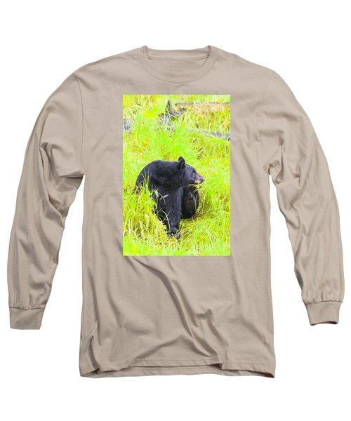 Getting Ready Long Sleeve T-Shirt by Harold Piskiel