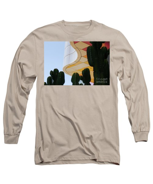 Getty Architecture Cactus Color Curves  Long Sleeve T-Shirt