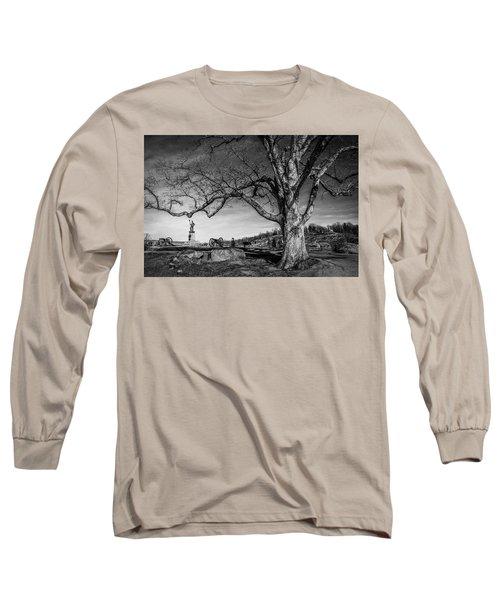 Gettysburg Below Little Round Top Long Sleeve T-Shirt