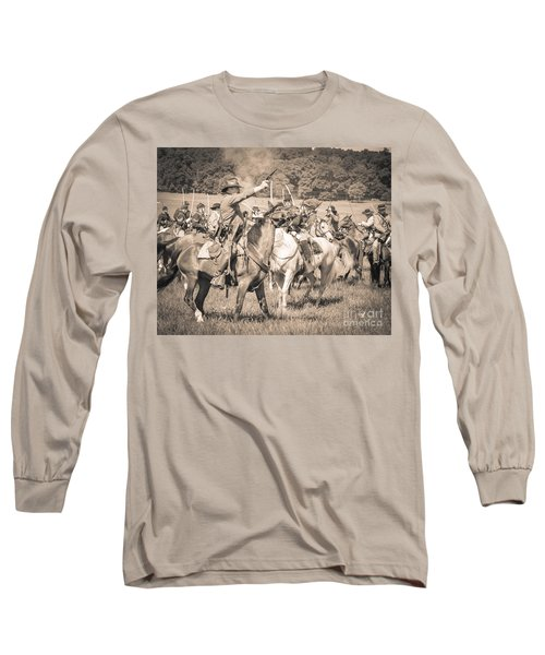 Gettysburg  Union Cavalry 7920s  Long Sleeve T-Shirt