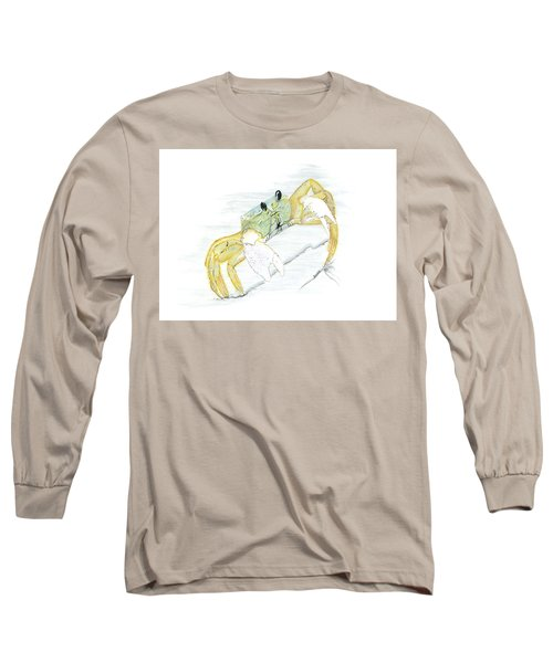 Ghost Crab Drawing The Line Long Sleeve T-Shirt