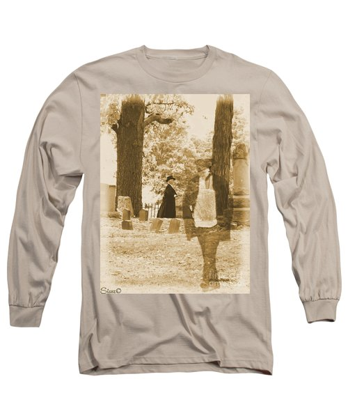 Ghost In The Graveyard Long Sleeve T-Shirt