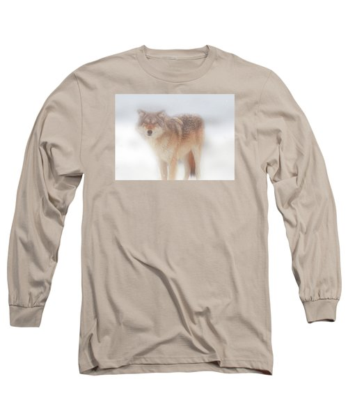 Ghost Wolf Long Sleeve T-Shirt