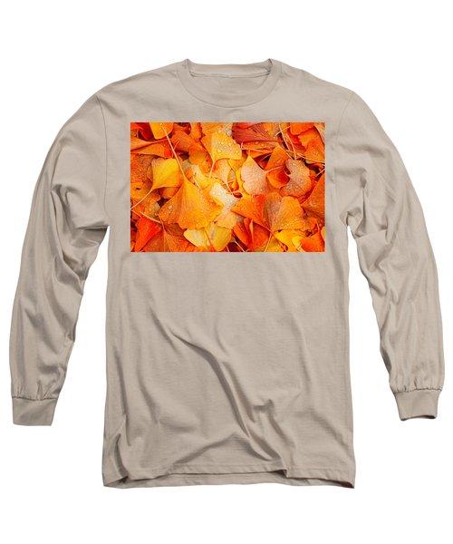 Ginkgo Fall Long Sleeve T-Shirt