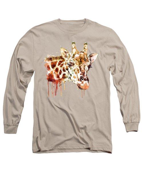 Giraffe Head Long Sleeve T-Shirt